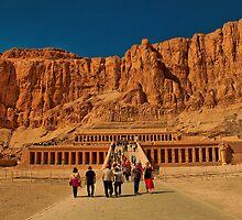 Egypt. Luxor. Temple of Queen Hatshepsut. by vadim19