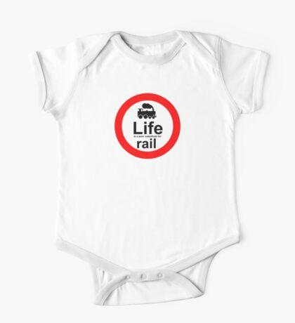 Rail v Life One Piece - Short Sleeve