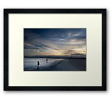 """Mama's not gonna wait forever' Framed Print"