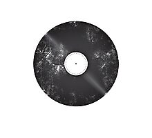 Scratched Record Photographic Print