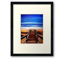 90 Mile Beach Framed Print
