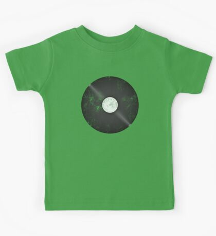 Scratched Record Kids Tee