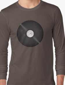 Scratched Record Long Sleeve T-Shirt