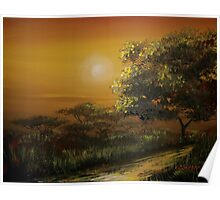 Sunset in the Bushveld Poster