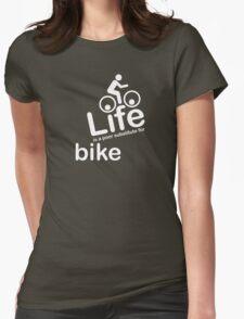 Bike v Life - White Graphic T-Shirt