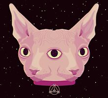 Two-Faced Sphynx From Outer Space by badOdds
