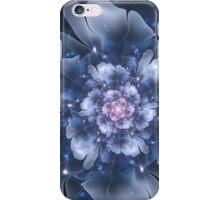 Blue Fractal Flower iPhone Case/Skin