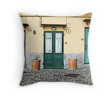 Genova - Italy Throw Pillow