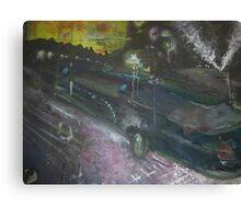 Las Vegas Drop Off- Super Stretch Vegas Limo  Canvas Print
