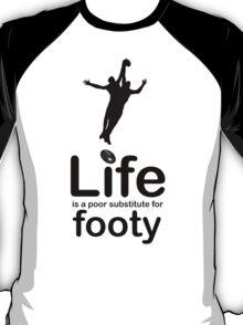 AFL v Life - Black Graphic T-Shirt