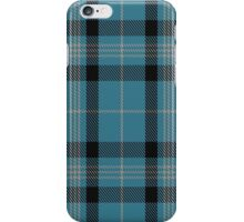 00431 Angle Blue Tartan  iPhone Case/Skin