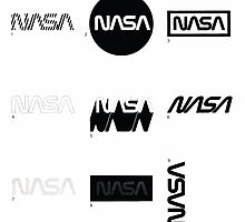 Nasa Graphics Standards Manual 1976 0002 The Logotype Incorrect Uses 2 by wetdryvac