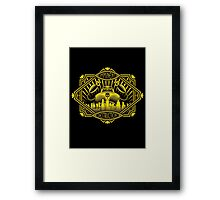Imminent Destruction Framed Print