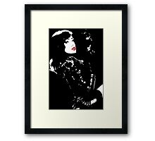 Call girl Framed Print