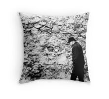 Ancient and aged.. Throw Pillow