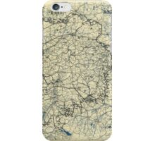 World War II Twelfth Army Group Situation Map April 23 1945 iPhone Case/Skin
