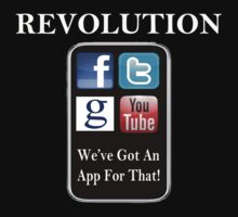 Revolution - We've Got An App For That! Kids Clothes