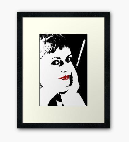 The Mistress Framed Print