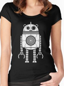 Big Robot 1.0 Women's Fitted Scoop T-Shirt
