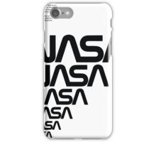 Nasa Graphics Standards Manual 1976 0006 Reproduction Art Logotype iPhone Case/Skin