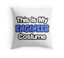 This Is My Engineer Costume Throw Pillow
