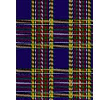 00432 Anthony Plaid Blue Tartan  Photographic Print