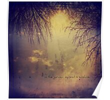 In the garden my soul is sunshine. Poster