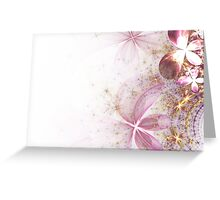 Soft Dreamy Blooms Greeting Card
