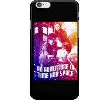 An Adventure in Time and Space iPhone Case/Skin