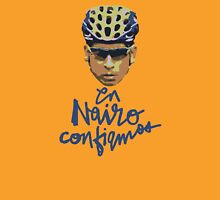 En Nairo Confiamos / In Nairo We Trust (Spanish) : Illustration on Movistar Green T-Shirt