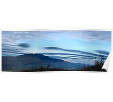Blencathra from Walla Crag Poster