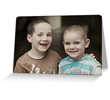 Bond of Brothers Greeting Card