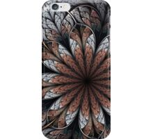 Wintry Floral Dreams iPhone Case/Skin