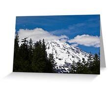 Mt. Rainier - Washington state Greeting Card