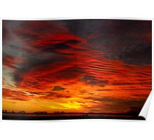 A Beautiful Valentines Sunrise  Photo Image Poster