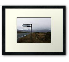 Achill Island Framed Print