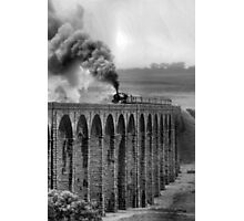 Rainy Ribblehead Photographic Print