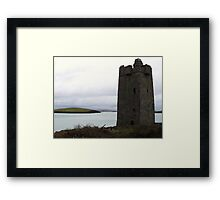 Granuaile's Castle, Achill Island Framed Print