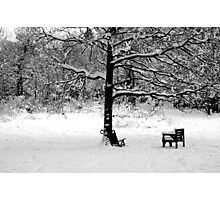 Empty chair Photographic Print