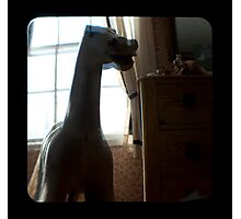 he rides again in childhood memories.. Photographic Print
