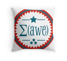 The Sum of Awe.  Throw Pillow
