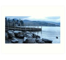 Derwentwater Blues Art Print