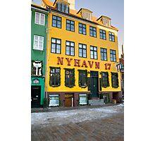 Nyhavn ore New Harbor Photographic Print