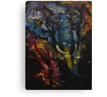 Elephant Nebula Canvas Print