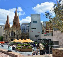 Federation Square, Melbourne. by ronaldbegg