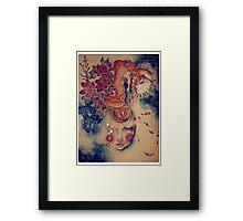 Pyrokinesis Framed Print