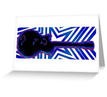 Electric Tones Greeting Card
