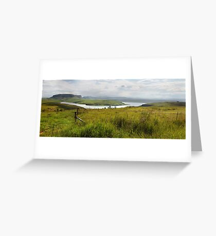 Sterkfontein Dam, South Africa Greeting Card