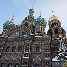 The Cathedral of Our Saviour on Spilled Blood, St Petersburg, Russia by inglesina