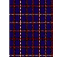 00434 Bacon Blue Tartan Photographic Print